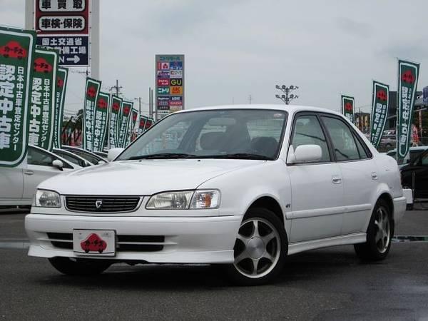 2000 Toyota Corolla Sedan GF-AE111