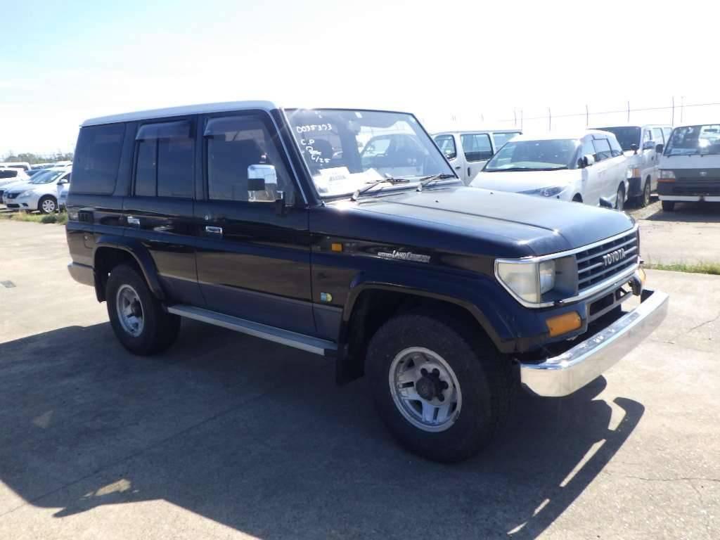 Toyota Land Cruiser Prado 1995 from Japan