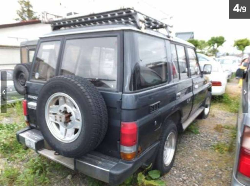 Toyota Land Cruiser Prado 1992 from Japan