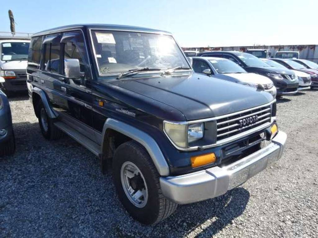 Toyota Land Cruiser Prado 1993 from Japan