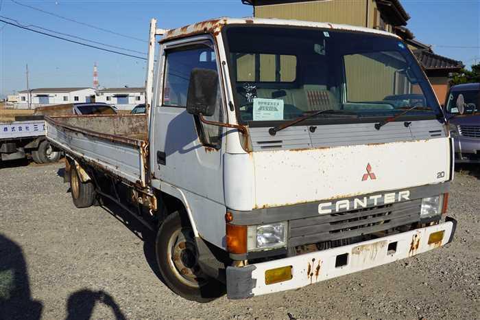 Mitsubishi Canter 1988 from Japan