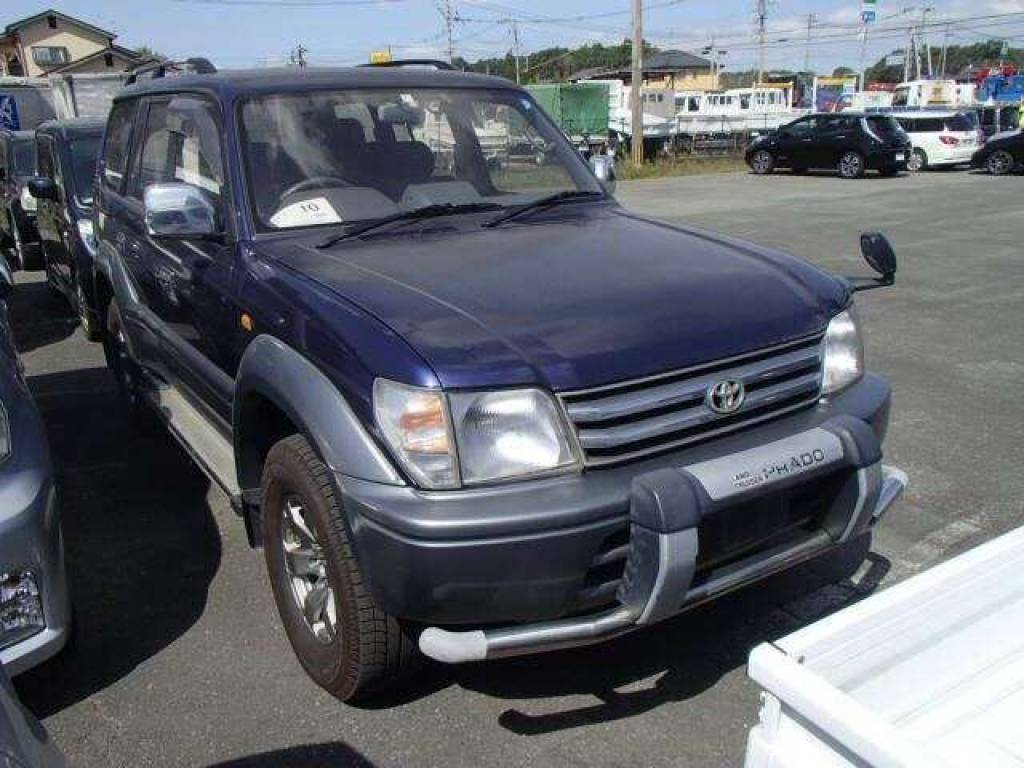Toyota Land Cruiser Prado 1996 from Japan