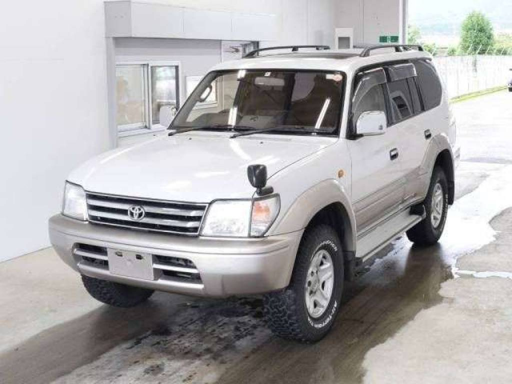 Toyota Land Cruiser Prado 1998 from Japan
