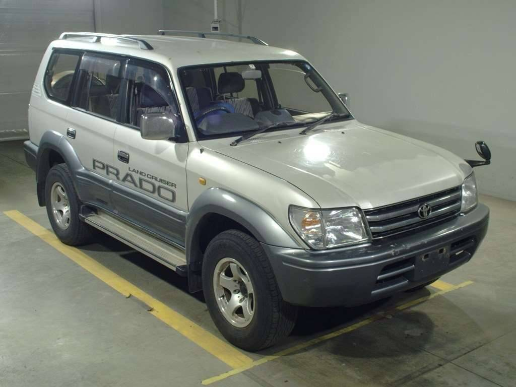 Toyota Land Cruiser Prado 1997 from Japan