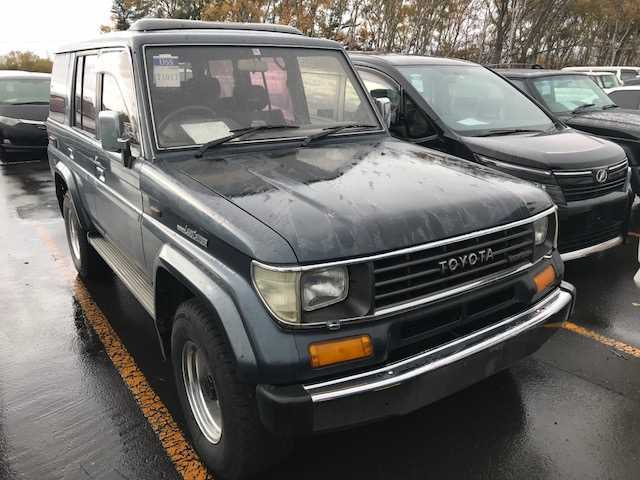 Toyota Land Cruiser Prado 1992 from Japan