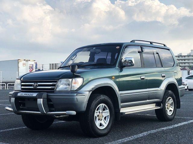 Toyota Land Cruiser Prado 1996 from Japan