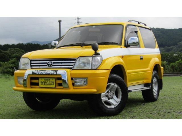 Toyota Land Cruiser Prado 2001 from Japan