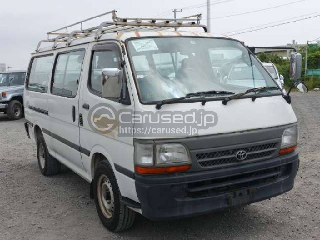 Toyota Hiace Van 1998 from Japan