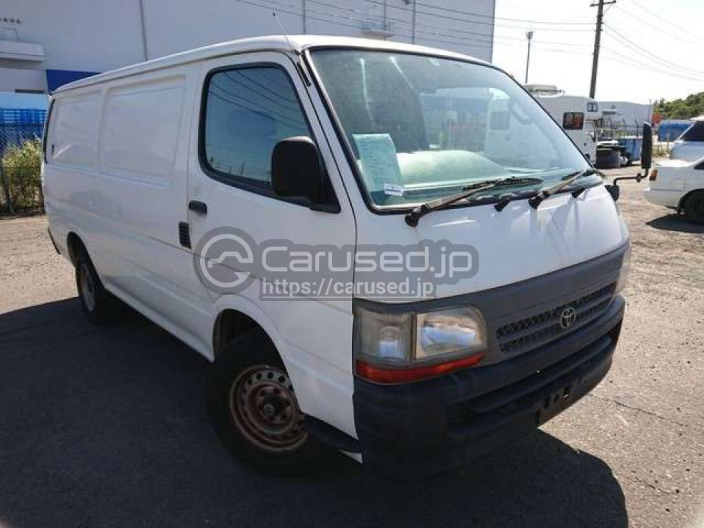 Toyota Hiace Van 2002 from Japan