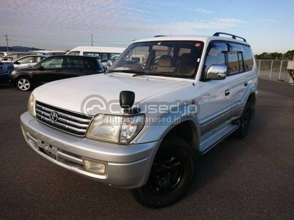 Toyota Land Cruiser Prado 2001 from Japan