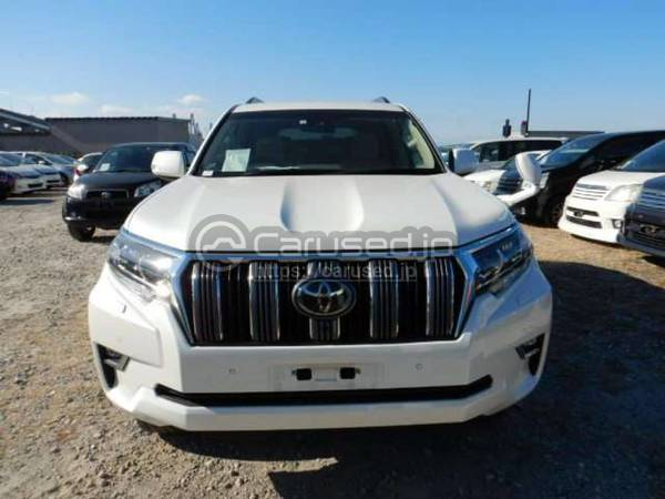 Buy Used 2018 Toyota Land Cruiser Prado Gdj150w Smx00083 Carused Jp