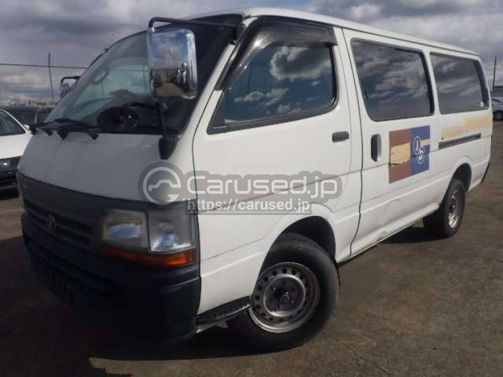 Toyota Hiace Van 2004 from Japan
